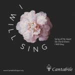 Coming This Spring: <em>I Will Sing!</em>